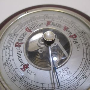 VINTAGE WEST GERMAN CENCO #76872 BAROMETER